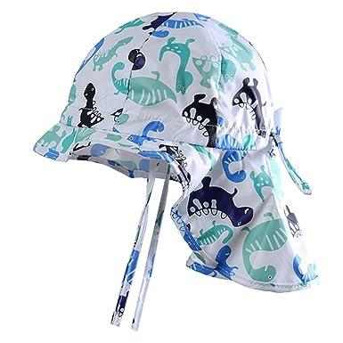 Baby Kids Girls Boys UV Sun Protection Legionnaire Hat Cap 50UPF