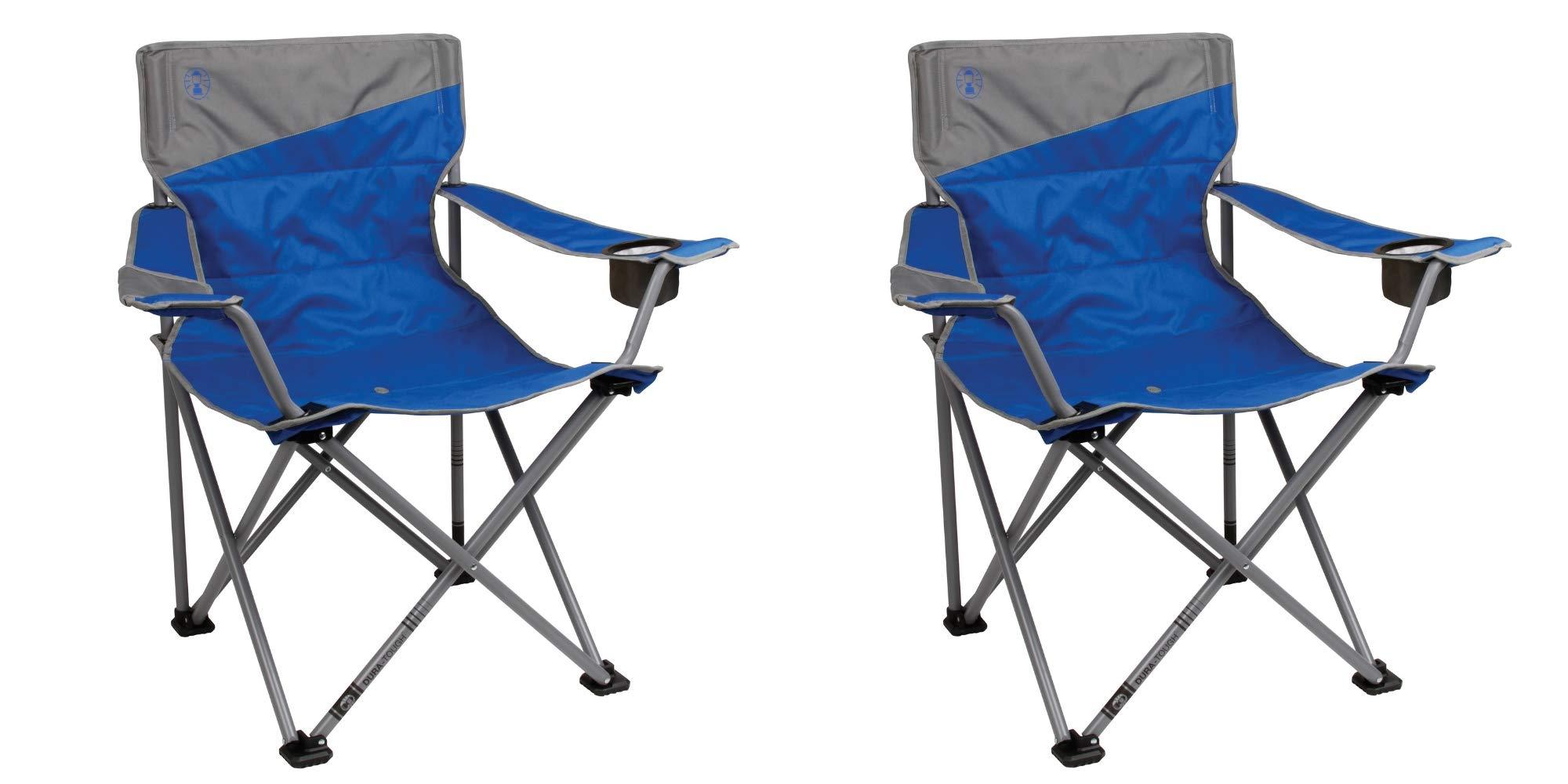 Coleman Big-N-Tall Quad Camping Chair / 2-Pack