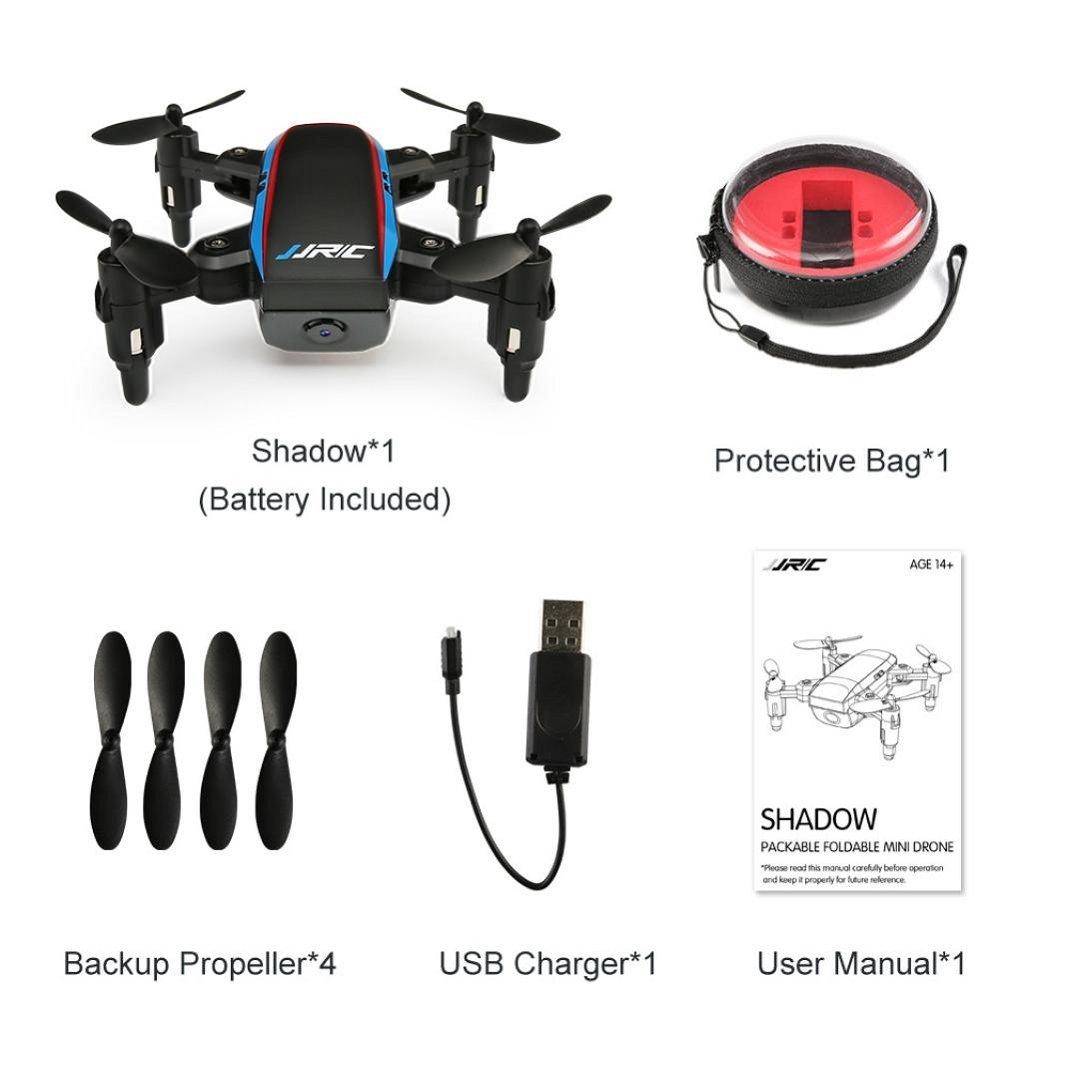 Sisit JJRC H53W Mini Foldable Pocket Drone Mini FPV Quadcopter ...