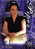 Holly Marie Combs trading card Charmed 2005 #8 Piper Halliwell