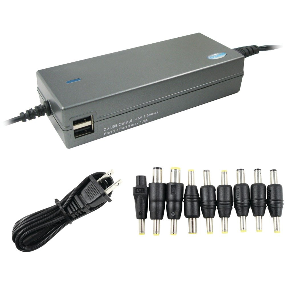LENMAR LAC120 120-Watt Notebook Power Adapter with Dual USB Outputs electronic consumer