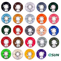 eSUN 1.75mm PLA PRO (PLA+) 3D Printer Filament 1KG Spool (2.2lbs), 24 Colors to Choose from ESUN