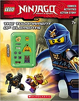 The Tournament of Elements Lego Ninjago: Activity Book with ...