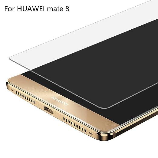 26 opinioni per Huawei Mate 8 Pellicola Vetro Temperato, Widamin [Protezione Antigraffi] Ultra