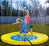 Splashin'kids New 68'' Sprinkle and Splash Play Mat Toy is for Children Infants Toddlers,Boys, Girls and Kids - Perfect Inflatable Outdoor Sprinkler pad