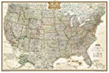 United States Executive Poster Size Wall Map (tubed)