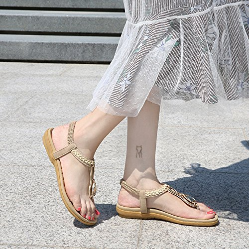 1color Chaussure Fond t Avec Plat Dcontract Pour Yalanshop Un Femme En Simple TdwPWZq