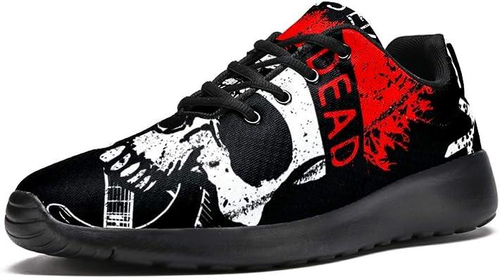 chaussures tête de mort homme femme 10