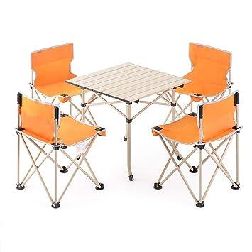 Havanadd-Home Mesa de Camping Mesa Plegable para Acampar al ...