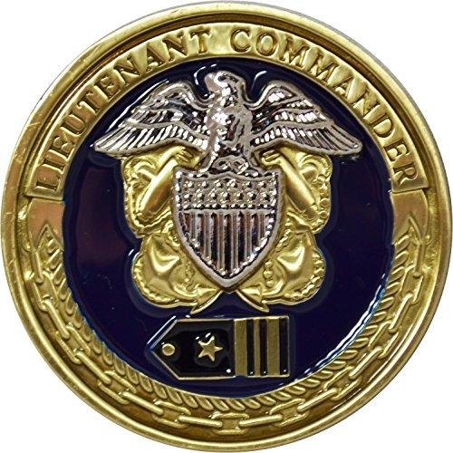 Commander Challenge Coin - US Navy Lieutenant Commander Challenge Coin