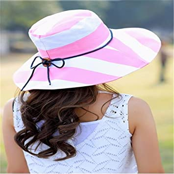 1812a35ef68 RangYR Women Hat Summer Fall Sun Hat Outdoor Cycling Sun Hat Cover Face  Electric Car Foldable