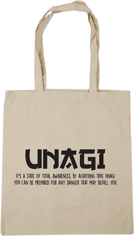 10 litres Unagi definition Tote Shopping Gym Beach Bag 42cm x38cm