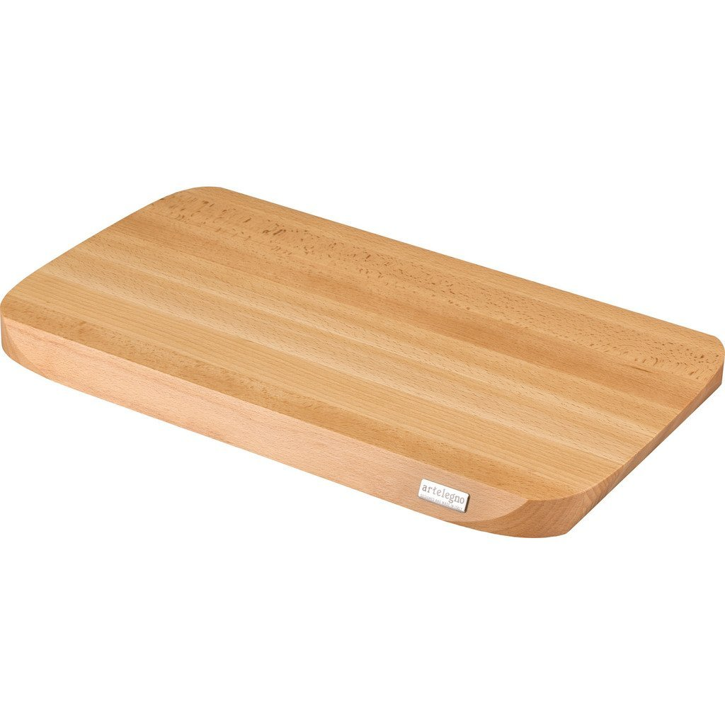 Artelegno Solid Beech Wood Cutting Board, Luxurious Italian Siena Collection by Master Craftsmen, Ecofriendly, Natural Finish, Small Arte Legno COMIN18JU009591