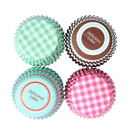 Kitchen, Dining & Bar Baking Cups & Liners Humorous Blue Polka Dot Mini Cupcake Liners Baking Cups Grease Proof Birthday Wedding
