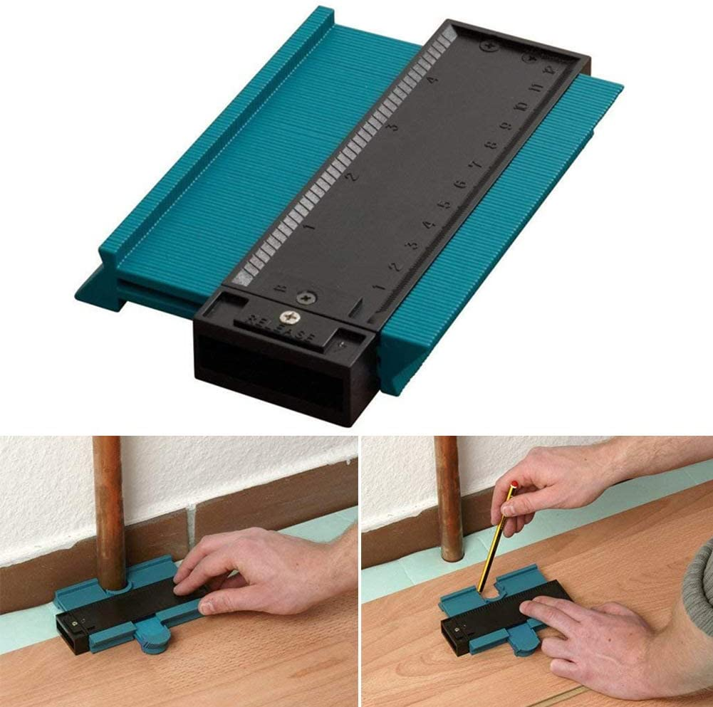 Shape Duplicator for Tiling Laminate Woodworking Practical Tool-Precisely Copy Irregular Shapes SNAFUL Contour Gauge Duplicator