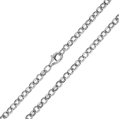 Silberkette Halskette mit Engelsrufer Erbskette in Silber 925