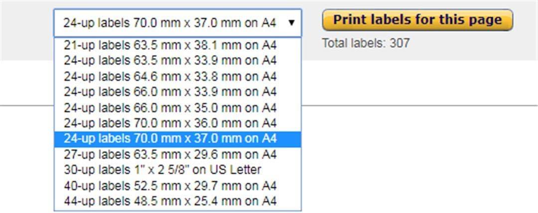 21 Pages 100 Feuilles A4 Autocollantes 63.5 x 38.1 mm Songlela /Étiquettes dadresse Blanches Adapt/é pour  FBA /Étiquettes Autocollantes pour Timbres pour Imprimante jet dencre et Laser
