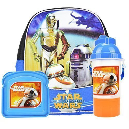 Star Wars The Force Awakens Backpack and School Supplies (Mpt Players)