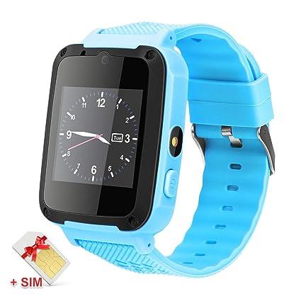 Amazon.com: Reloj inteligente para niños con tarjeta SIM de ...