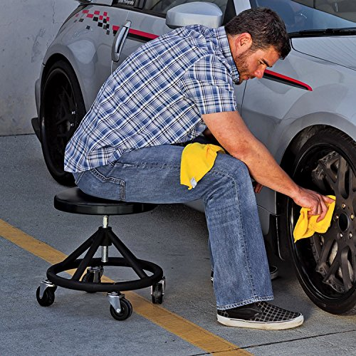 Powerbuilt 620478 Heavy Duty Rolling Brake Stool Mechanic