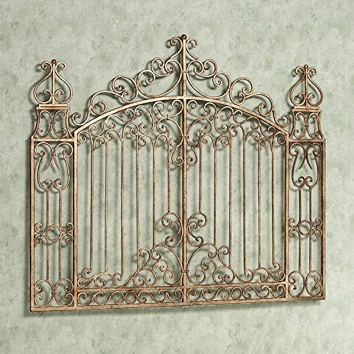 Olivia Wong's Gates of Tuscany Wall Grille Antique Gold