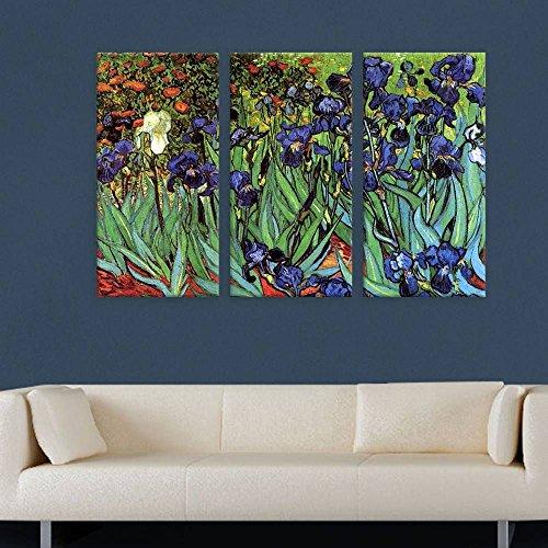Alonline Art - Irises Vincent Van Gogh POSTER PRINTS ROLLED