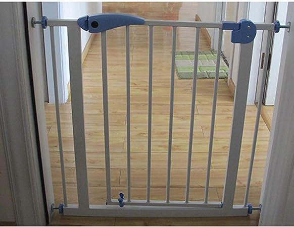 Xinyuanjiafang 95-104 cm de Seguridad Ajustable corralitos para bebés Puerta de Seguridad barandilla Hierro Perro esgrima niño escaleras Guardia protección: Amazon.es: Hogar
