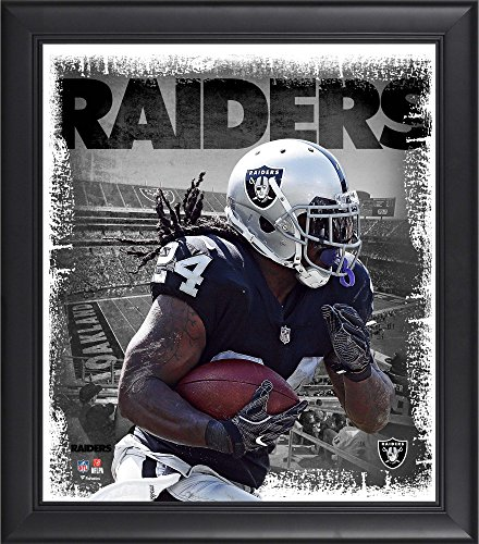 Marshawn Lynch Oakland Raiders Framed 15