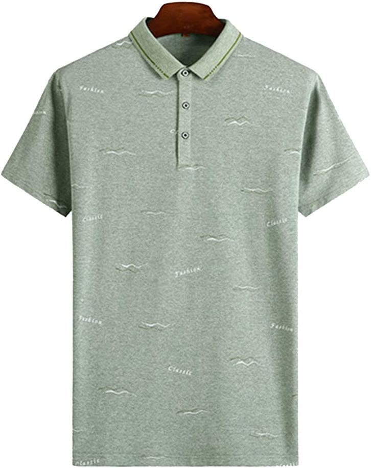 nihiug Camisetas Polo clásicas para Hombre Golf Camiseta de Tenis ...