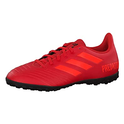 fabc653898f0 Adidas Predator Tango 19.4 Turf, Men's Shoes, Multicolour (Active Red/Solar  Red
