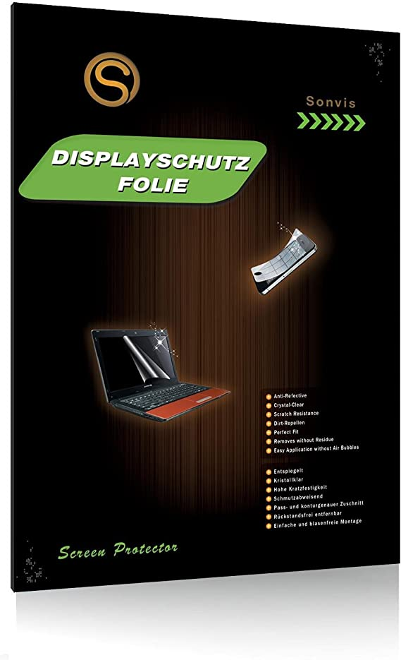 upscreen Entspiegelungs-Schutzfolie f/ür 27 Zoll Notebooks Anti-Reflex Displayschutz-Folie Matt 598 x 336 mm, 16:9