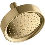 Kohler 965-AK-BGD Purist Showerhead, Vibrant Modern Brushed Gold