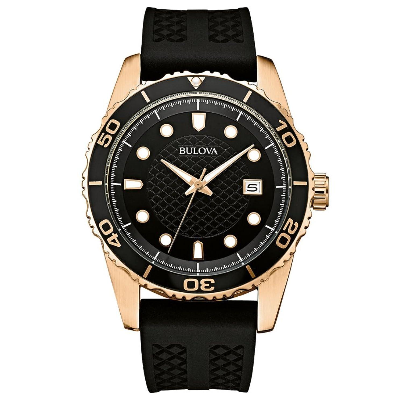 Bulova Herren-Armbanduhr Mens Sports Analog Quarz 98B261