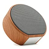 Portable Wireless Bluetooth Speakers by TaoZe, Fast Charge, Built-in-Mic, TF Card, AUX Line, Handsfree Call, Perfect Bass Bluetooth Speaker for iPhone iPad Android Smartphone and More - Black