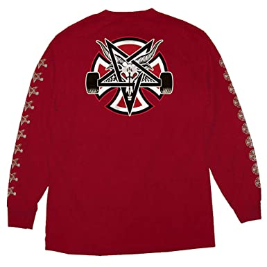 de040fe27f06 Image Unavailable. Image not available for. Color: Independent Trucks x  Thrasher Magazine Pentagram Cross ...