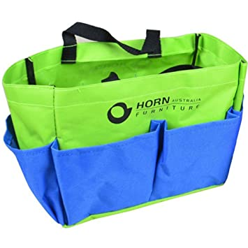A.B Crew Double Handled Outdoor Gardening Tool Tote Holder Oxford Bag  Organizer Storage Carrier With