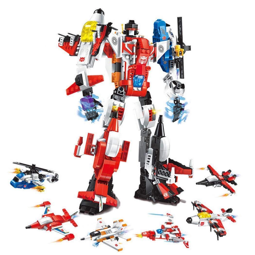 品質のいい Dickin レッド 1 6 in 1 ミニDIY変形ロボット教育ビルディングブロック プッシュ&プルおもちゃ ISVM033281_2 Dickin* レッド B07KM61KDN, 戦人-senjin-:15474065 --- a0267596.xsph.ru