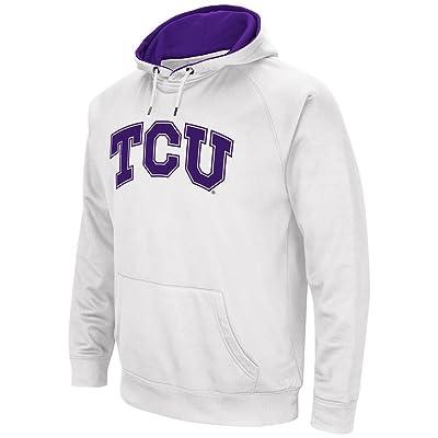 Mens NCAA TCU Horned Frogs Fleece Pull-over Hoodie
