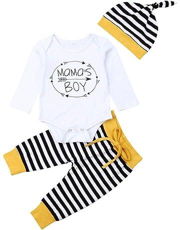 Hose 2PCS Xuefoo Neugeborenes Baby M/ädchen Kleidung Floral Anzug Overall Strampler