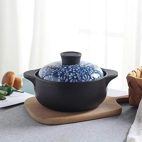 BJ-Casserole Cazuela Olla de Sopa de cerámica para el hogar ...