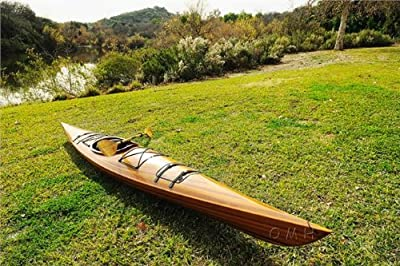 K001 Old Modern Handicrafts Real Kayak for 1 Person, 17-Feet by Old Modern Handicrafts -- DROPSHIP