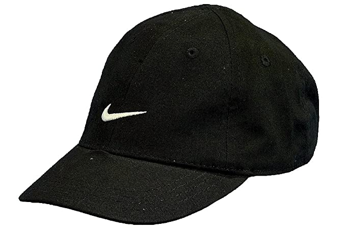6296ad236 Nike Boys Infants 12-24 Months Black Embroidered Swoosh Cap