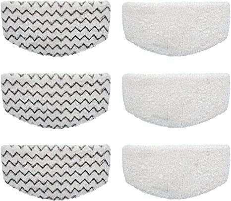 4 Pack Replacement Bissell Powerfresh Pads for The Bissell Powerfresh 1940 Series Steam Mop