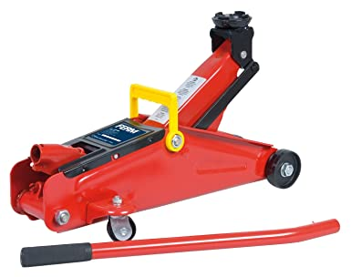 Cric//Sollevatore//Martinetto idraulico a carrello 2T//2000Kg con valigetta