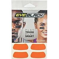 Orange Football Baseball Softball Eye Black Strips, 2 Pairs
