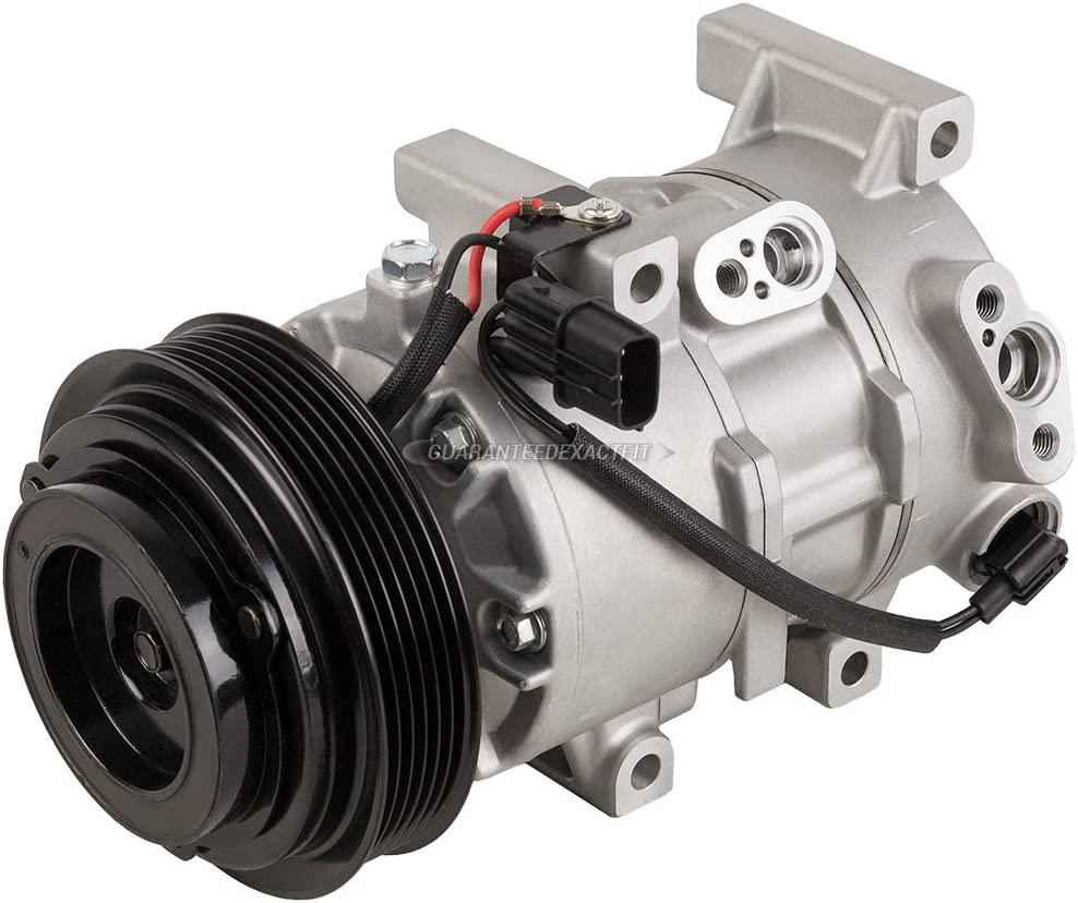 New OEM Genuine  AC Compressor /& A//C Clutch Fits Kia And Hyundai