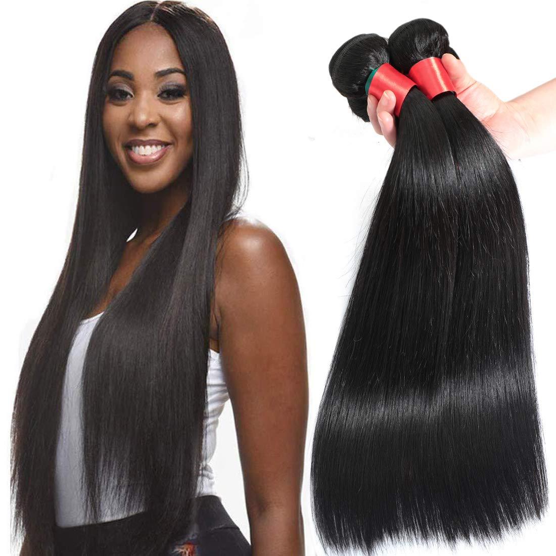 AUTTO Hair Brazilian Virgin Straight Human Bundles W New York Mall lowest price 3