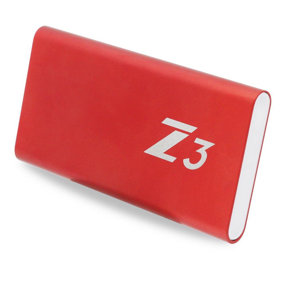 3D MLC NAND /… Z3-256 KingSpec SSD 256GB Portable SSD Type C USB3.1 Gen1 External SSD