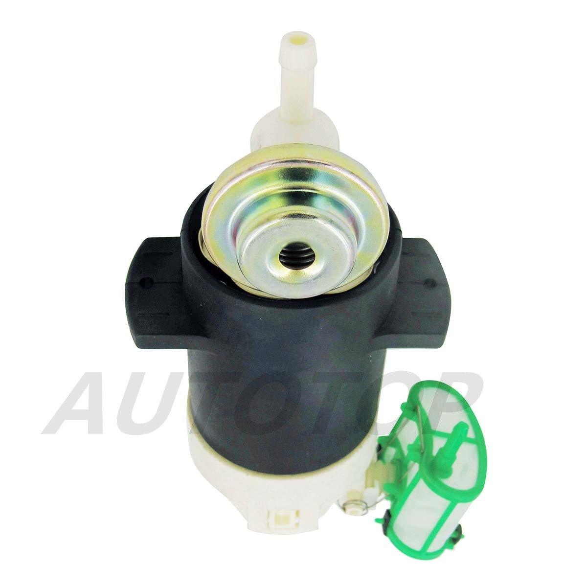 Autotop New Electric Intank Fuel Pump Fit 86 94 Nissan 1988 D21 Pickup Filter 95 96 E8376 1705001g08 1704059g24 1704059g15 Automotive