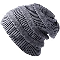 YOUNGDO Daily Knit Beanie, Warm, Stretchy & Soft Beanie Hats for Men and Women Chunky Skull Cap